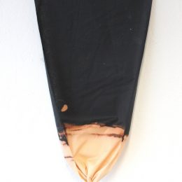 Inverted Triangle - 2014 - bleach on cotton