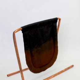 Tongue Sponge - 2016 - polycotton, bleach, polyester fill, copper pipe 40x45x25cm
