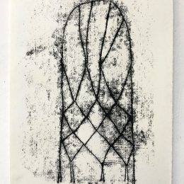 Sketchbook - monoprint on paper 21x30cm