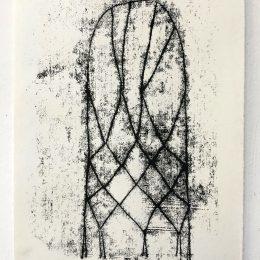 Sketchbook - monoprint on paper 21x30cm