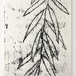 Sketchbook - monoprint on paper 30x42cm
